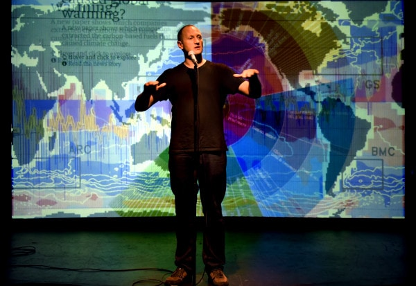 Review: Rap Guide to Climate Chaos at SoHo Playhouse