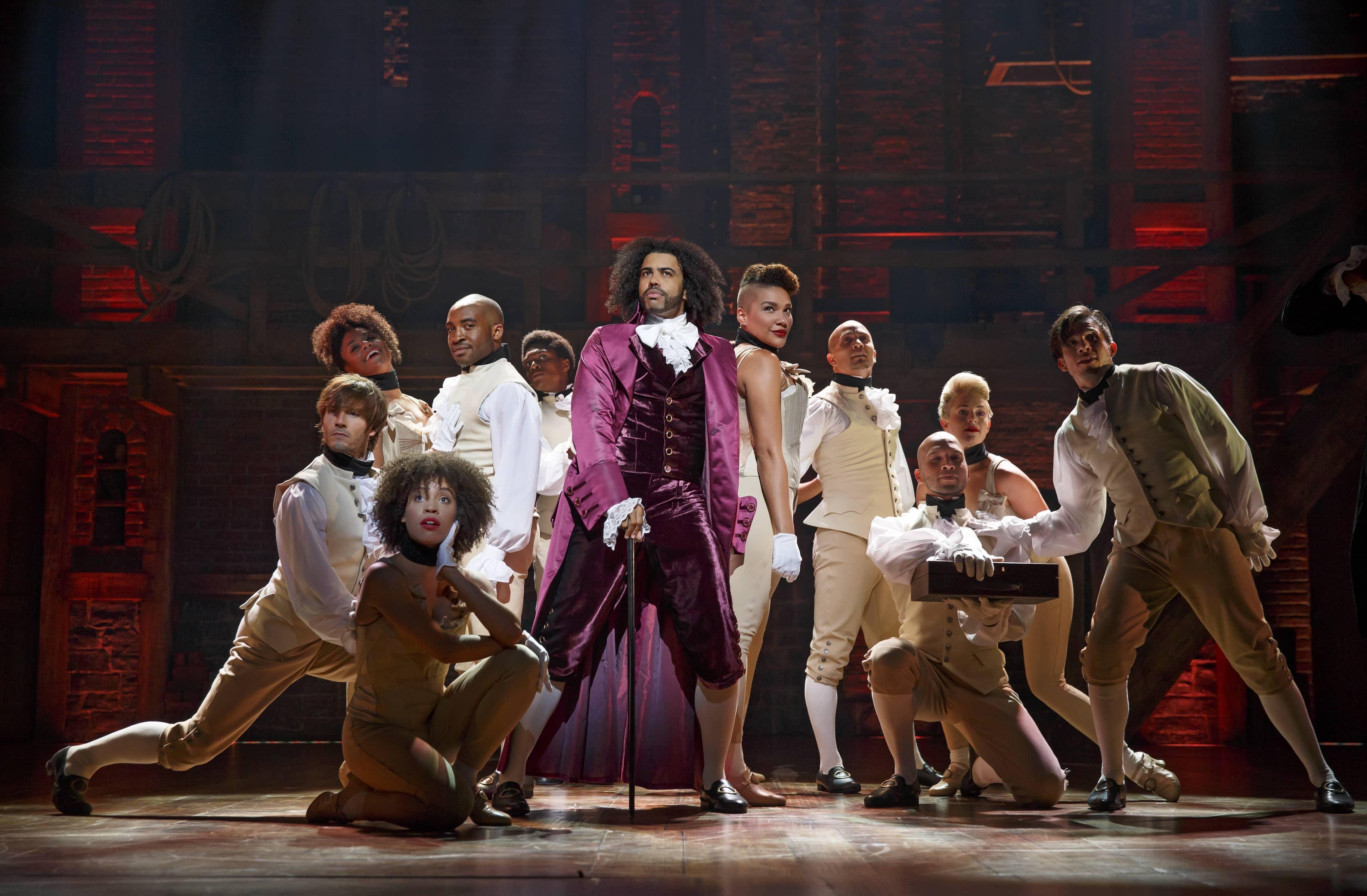 Hamilton in performance. Photo: Joan Marcus