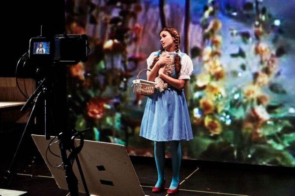 Oz seen through many lenses. Photo; Gennadi Novash, courtesy of Peak Performances @Montclair State University