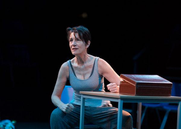 Harriet Walter as Prospero.