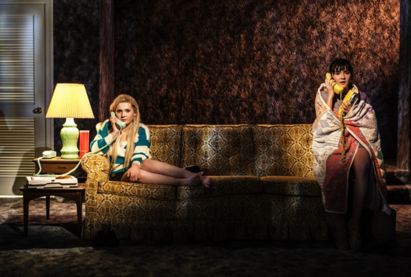 Abigail Breslin and Isabelle Fuhrman in All the Fine Boys. Photo: Monique Carboni