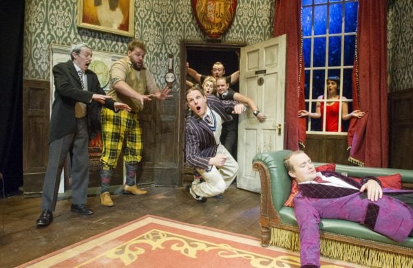 Review: The Play That Goes Wrong at Lyceum Theatre