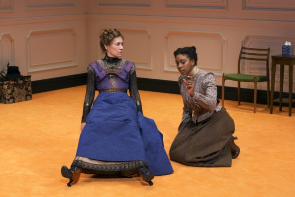 Laurie Metcalf, Condola Rashad in A Doll's House, Part 2 on Broadway (Photo: Brigitte Lacombe)