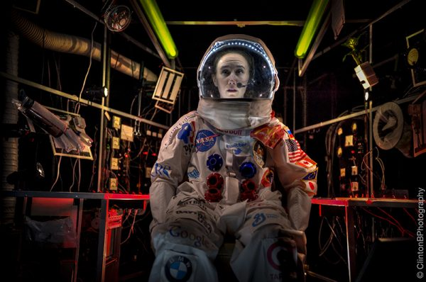 Erin Treadway in Spaceman (Photo: Clinton Brandhagen)