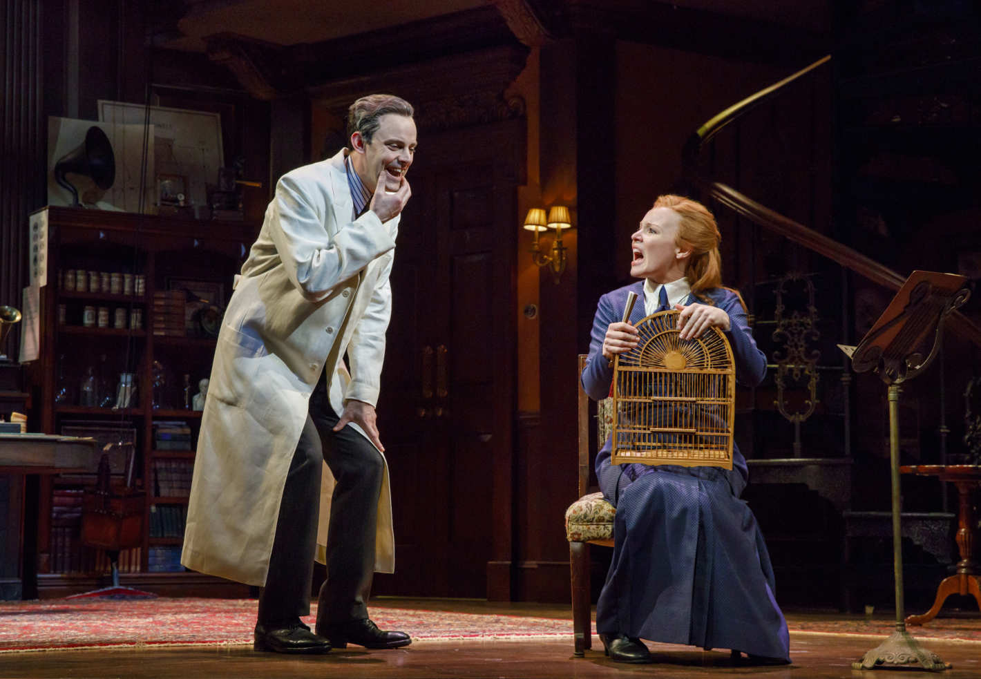 Harry Hadden-Paton and Lauren Ambrose in My Fair Lady (Photo: Joan Marcus)