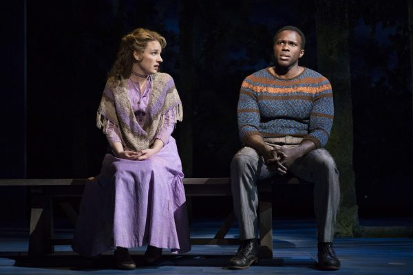 Jessie Mueller and Joshua Henry in Carousel (Photo: Julieta Cervantes)