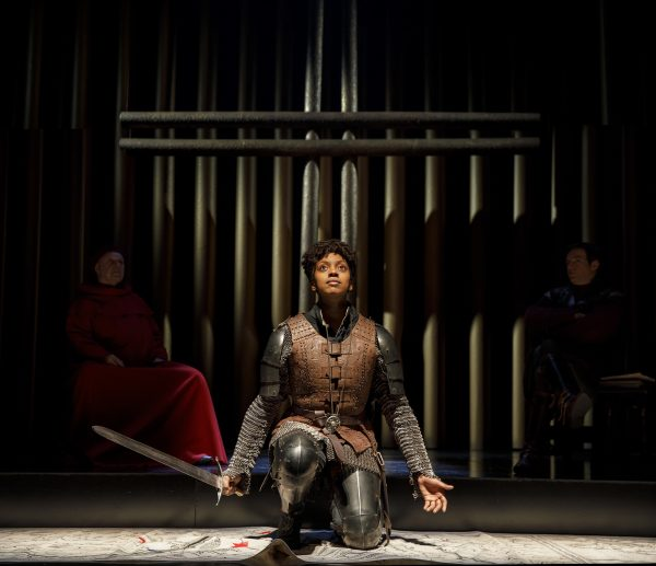 Condola Rashad as Saint Joan (Photo: Joan Marcus)