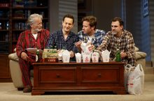 Review: Straight White Men at Helen Hayes Theater
