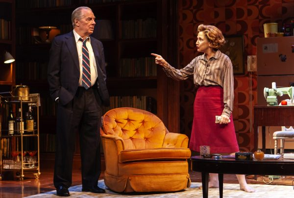 Michael McKean and Edie Falco in The True (Photo: Monique Carboni)
