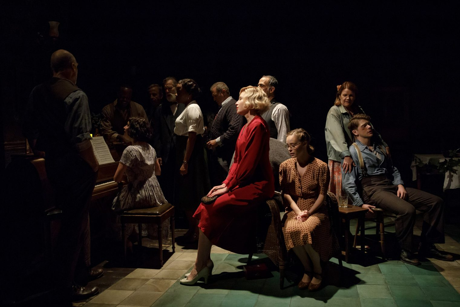 """Girl from the North Country"" at the Public Theater (Photo: Joan Marcus)"