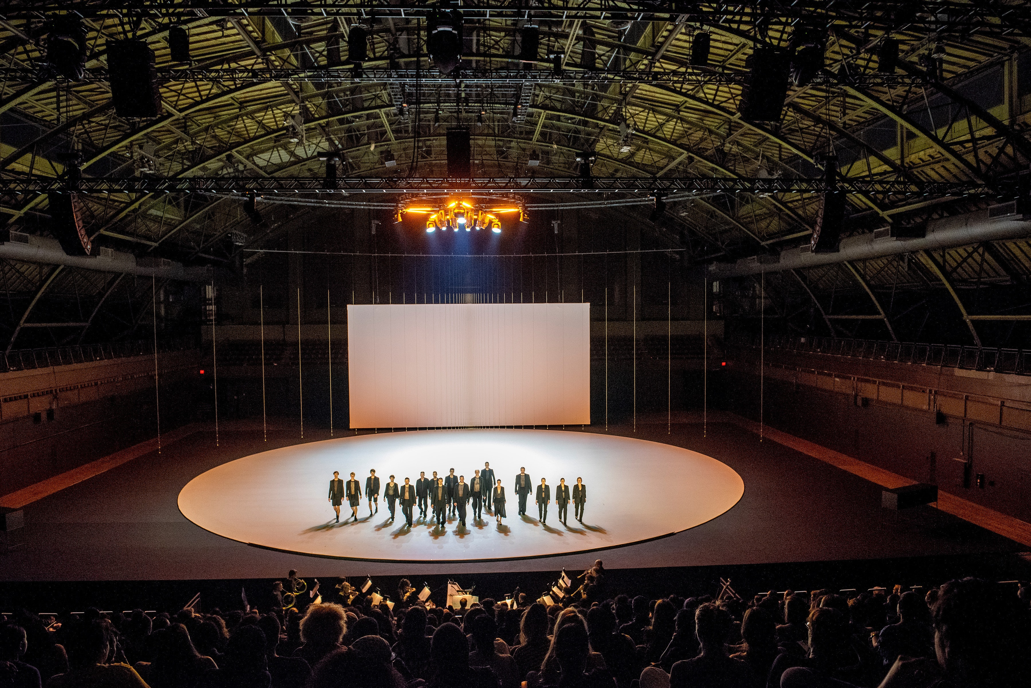 """The Six Brandenburg Concertos"" at Park Avenue Armory (Photo: Stephanie Berger)"