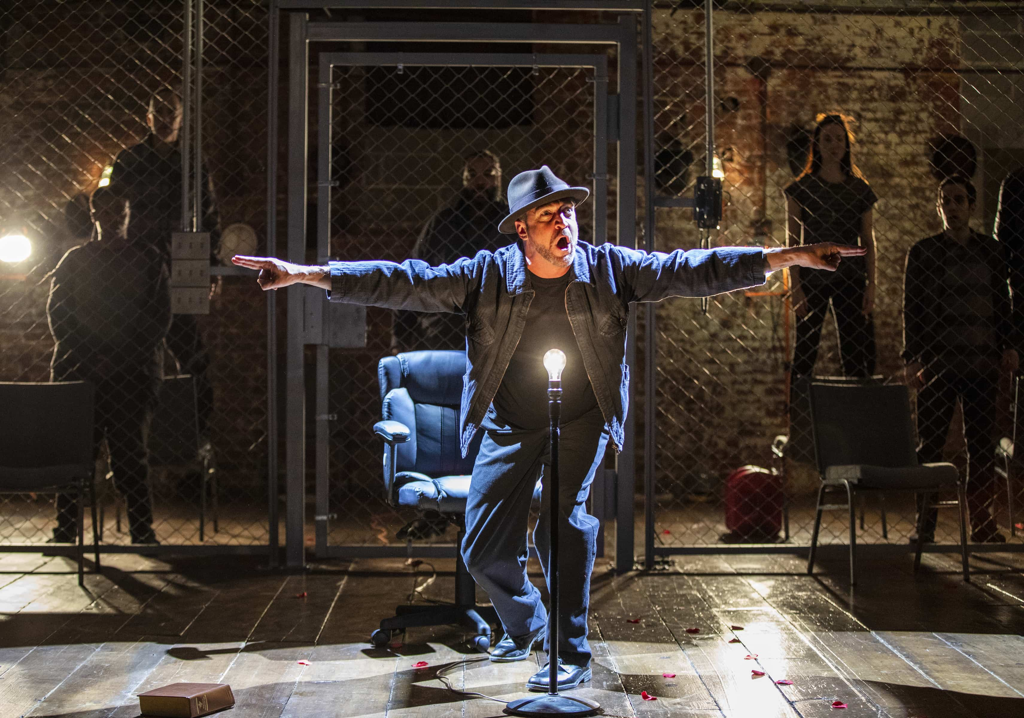 """The Resistible Rise of Arturo Ui"" at Classic Stage Company (Photo: Joan Marcus)"