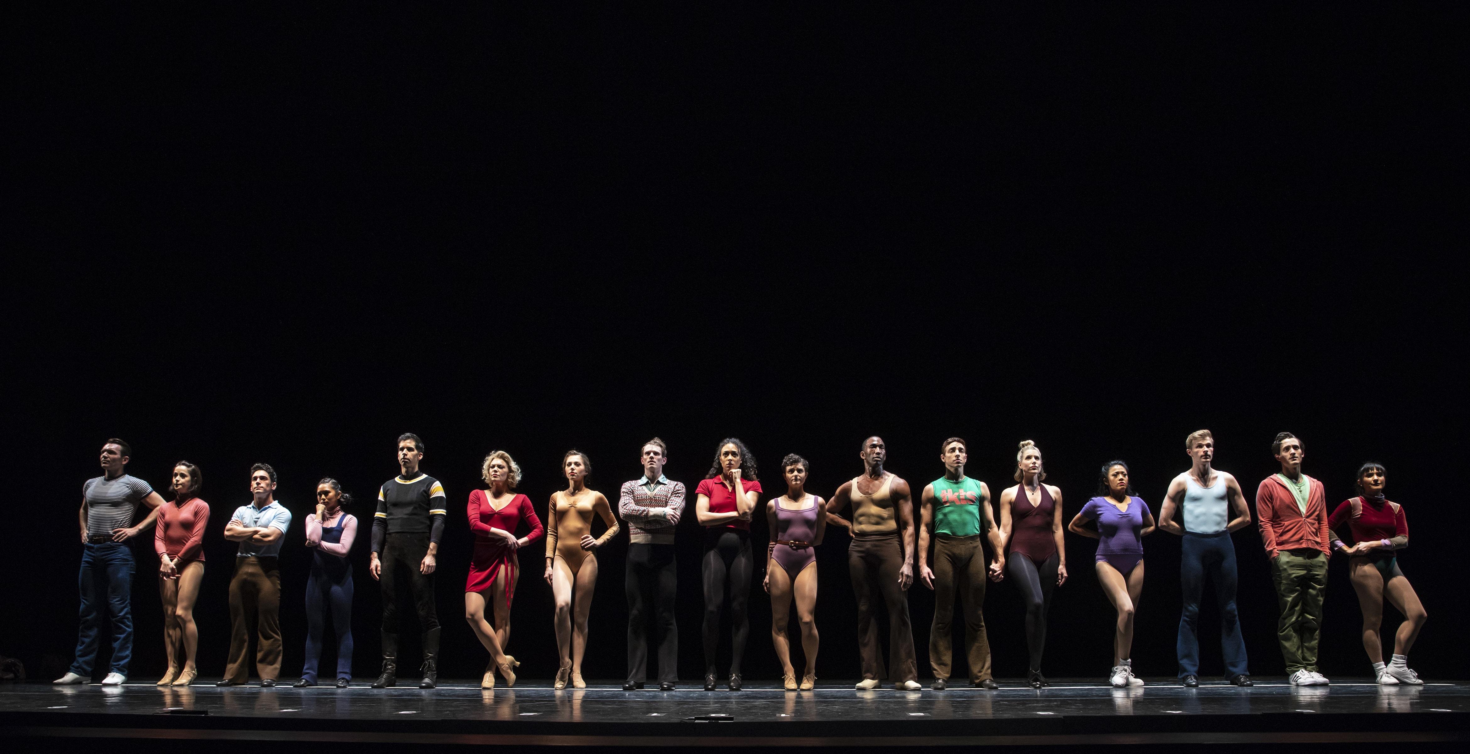 """A Chorus Line"" at New York City Center (Photo: Joan Marcus)"