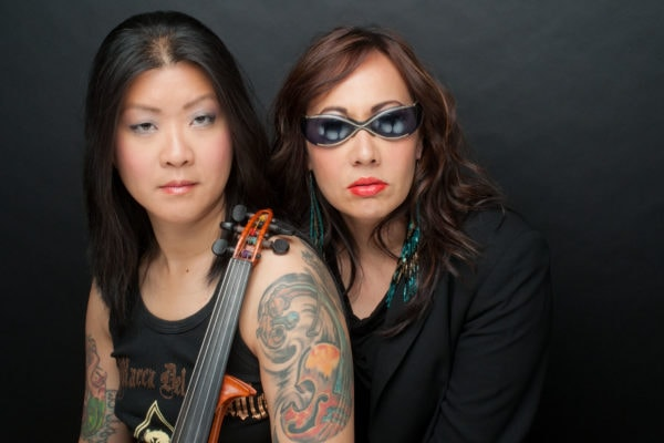 Lyris Hung and Kate Rigg in Zombie Asian Moms (Photo: Helen Tansey)