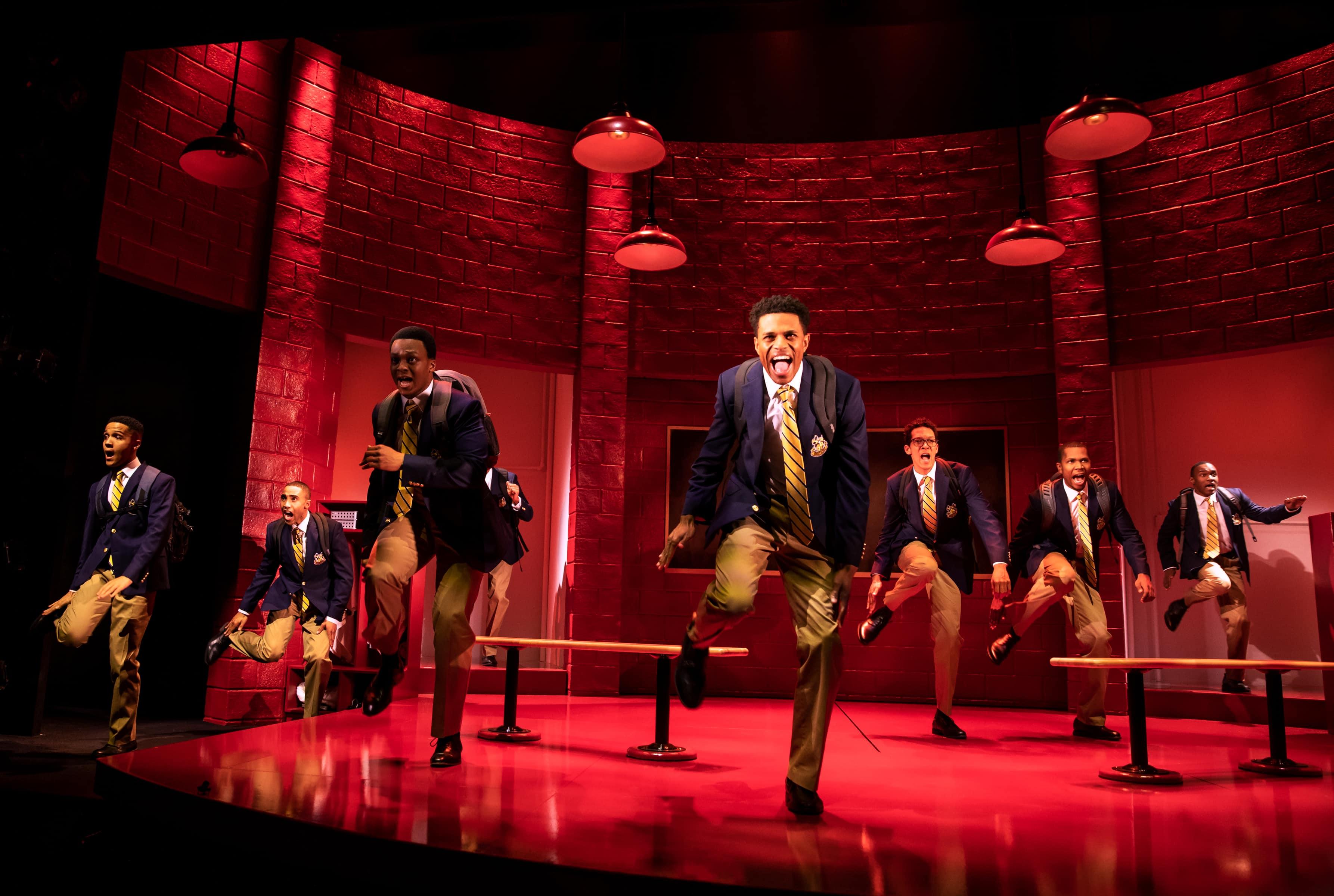 The cast of Choir Boy (Photo: Matthew Murphy)