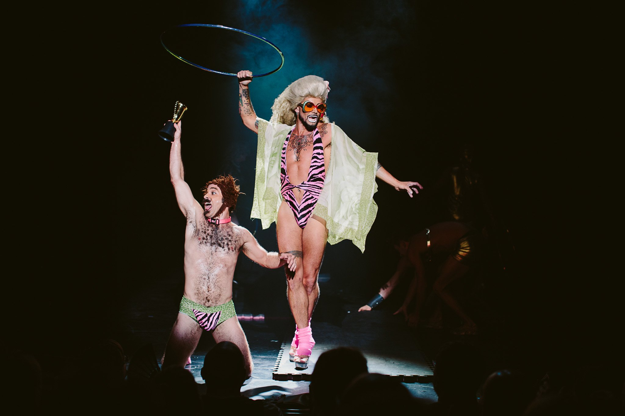 """Briefs: The Second Coming"" at NYU Skirball Center (Photo: Kate Pardey)"
