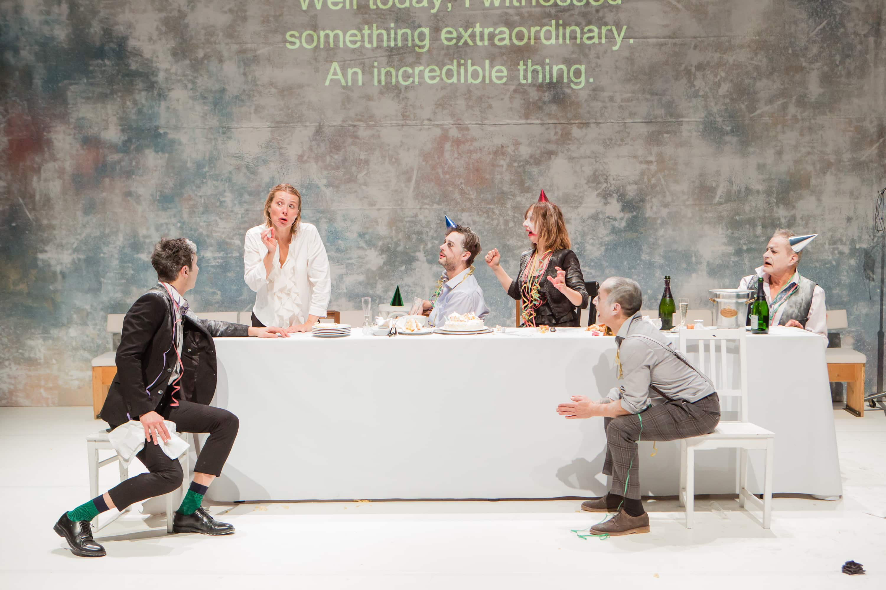 """Ionesco Suite"" at BAM Fisher (Photo: Ed Lefkowicz)"