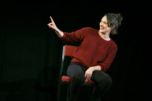 Phoebe Waller- Bridge as Fleabag (Photo: Joan Marcus)