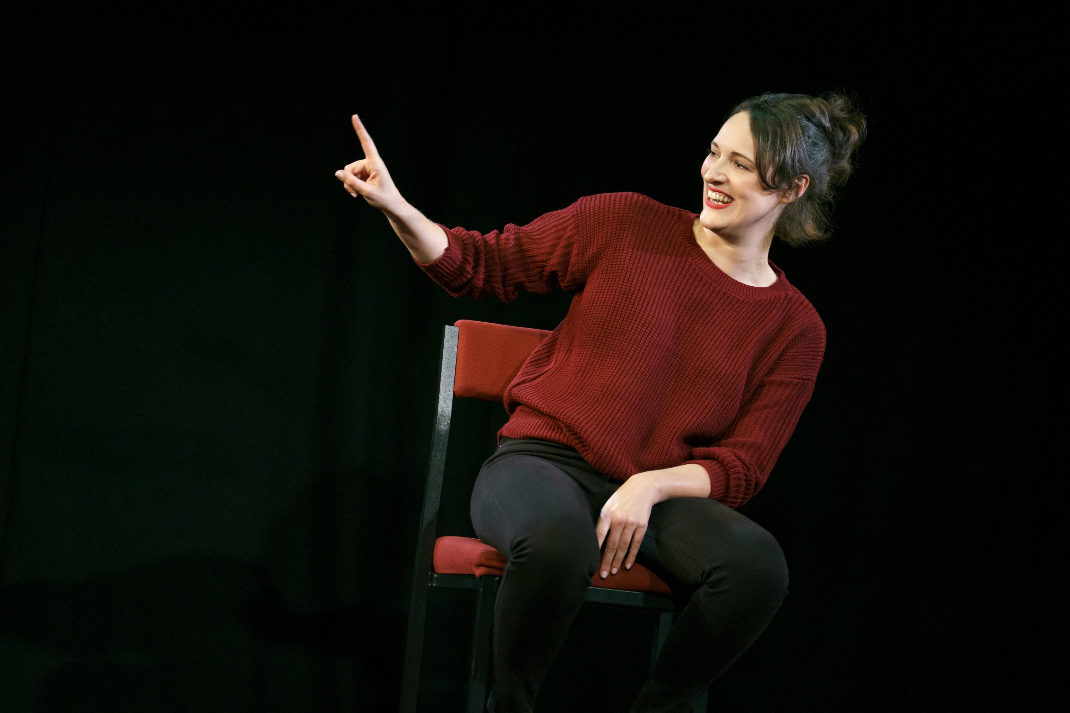 Phoebe Waller- Bridge as Fleabag (Photo: Joan Marcus)