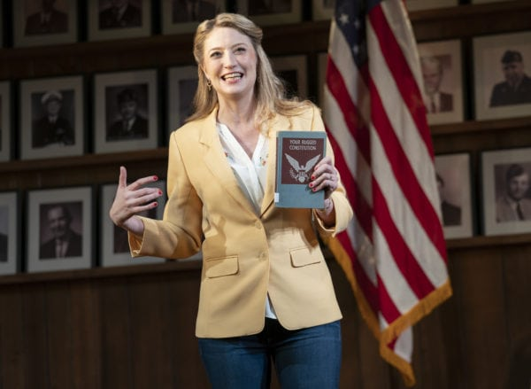 Review: What the Constitution Means To Me at Helen Hayes Theater