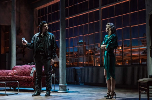 Review: Burn This at Hudson Theatre