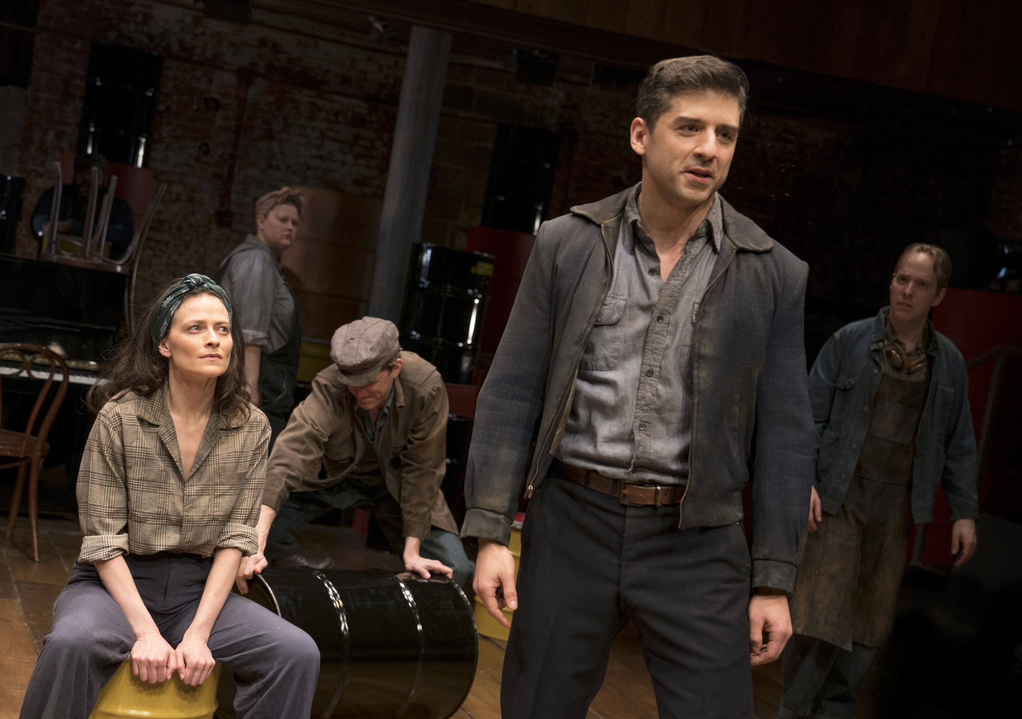 """The Cradle Will Rock"" at Classic Stage Company (Photo: Joan Marcus)"