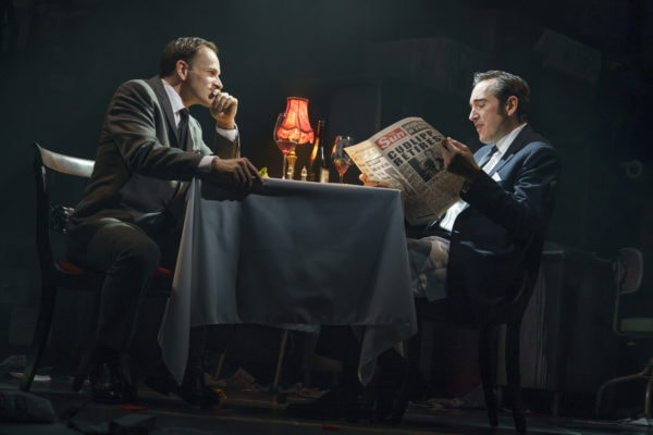 Jonny Lee Miller and Bertie Carvel in Ink (Photo: Joan Marcus)