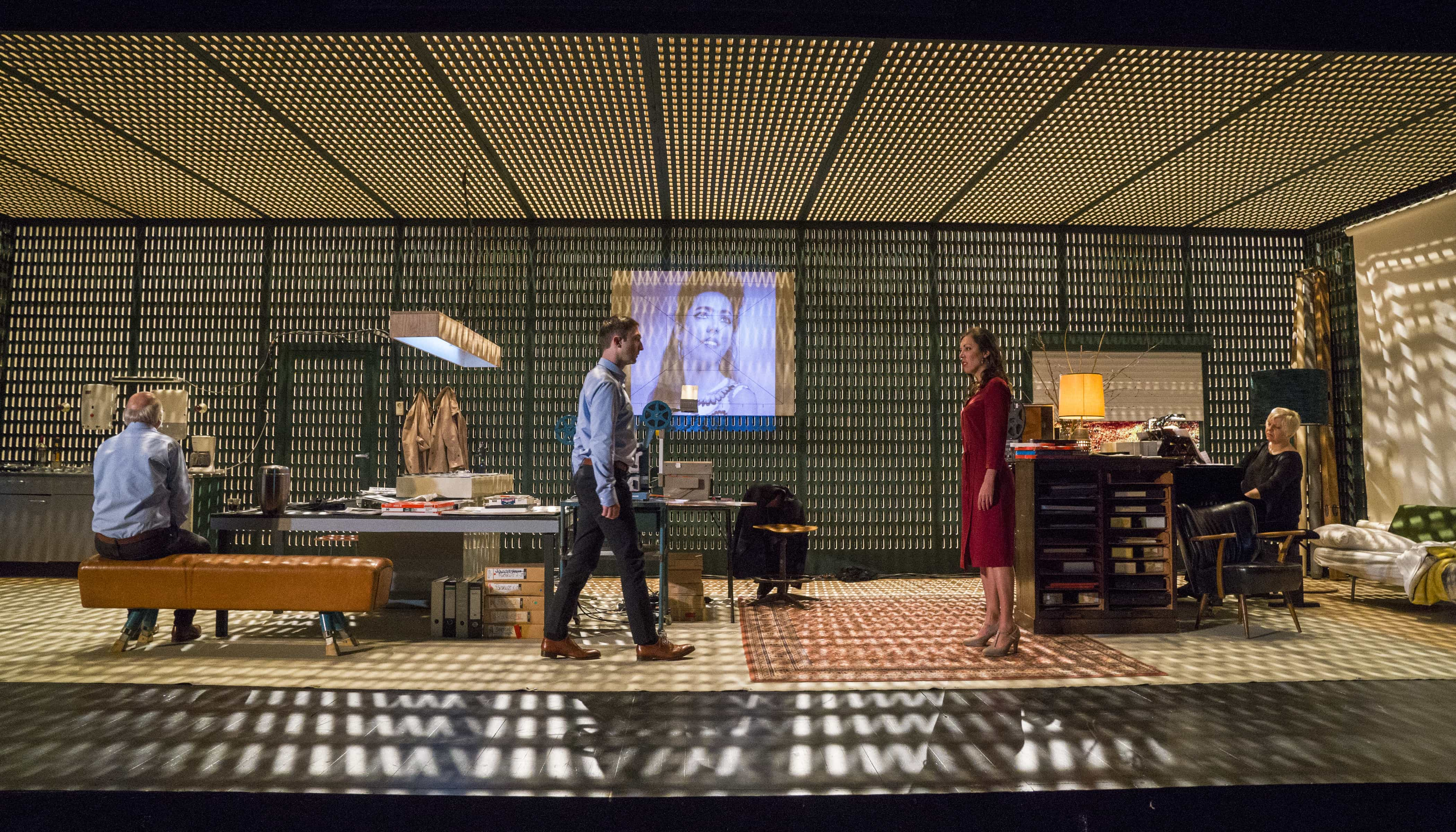 """""""Diary of One Who Disappeared"""" at the BAM Howard Gilman Opera House (Photo: Richard Termine)"""