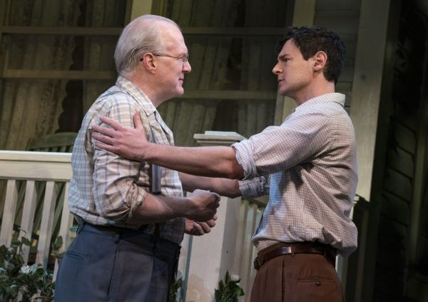 Tracy Letts and Benjamin Walker in Arthur Miller's ALL MY SONS, (Photo: Joan Marcus)