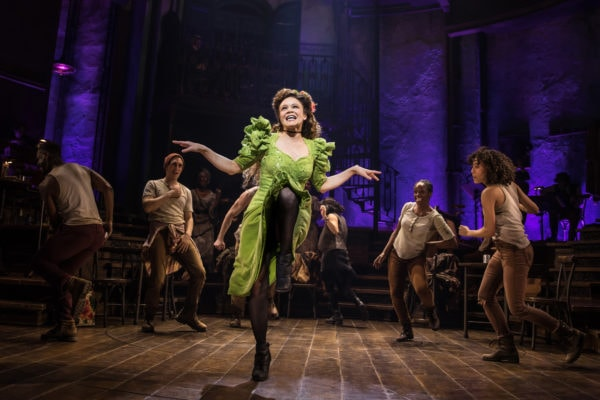 Amber Gray in Hadestown (Photo: Matthew Murphy)
