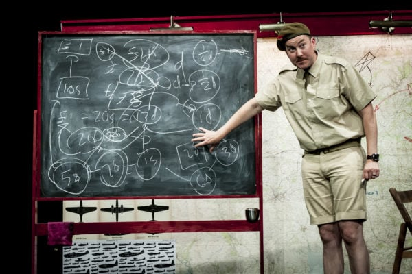 Review: Instructions for American Servicemen in Britain at 59E59