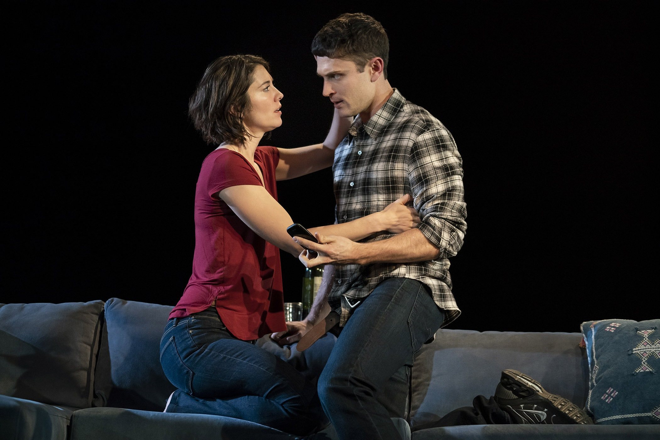 """Dying City"" at Second Stage Theatre (Photo: Joan Marcus)"