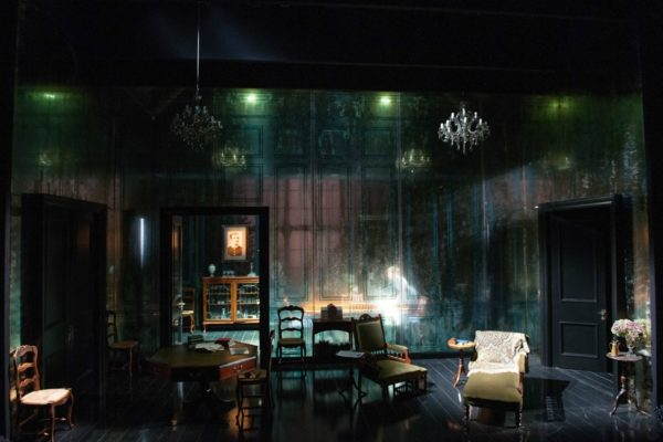 Tim Hatley's set for Ghosts. (Photo: Hugh Gelndinning)