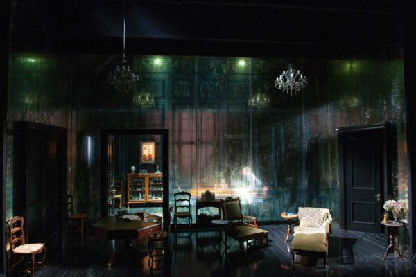 Tim Hatley's set for Ghosts. (Photo: Hugh Gelndinning)