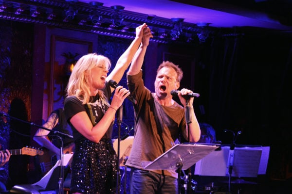 Sherie Rene Scott and Norbert Leo Butz in Twohander (Photo: Philip Romano)