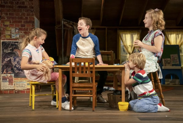 The young cast of Make Believe (Photo: Joan Marcus)