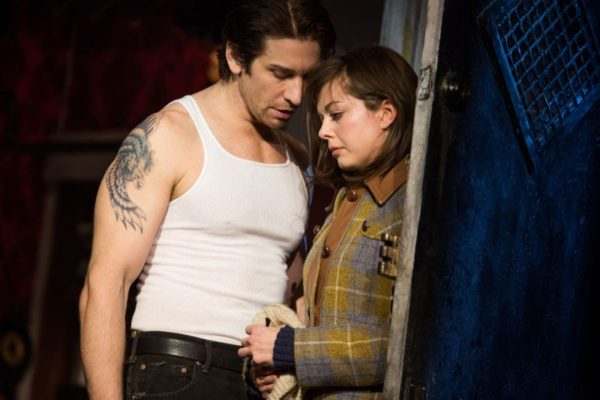 Andy Karl, Margo Seibert in Rocky (Photo: Matthew Murphy)