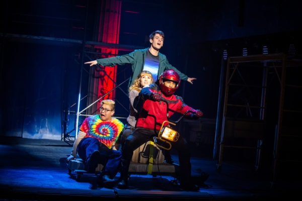 Review: The Lightning Thief: The Percy Jackson Musical at Longacre Theatre