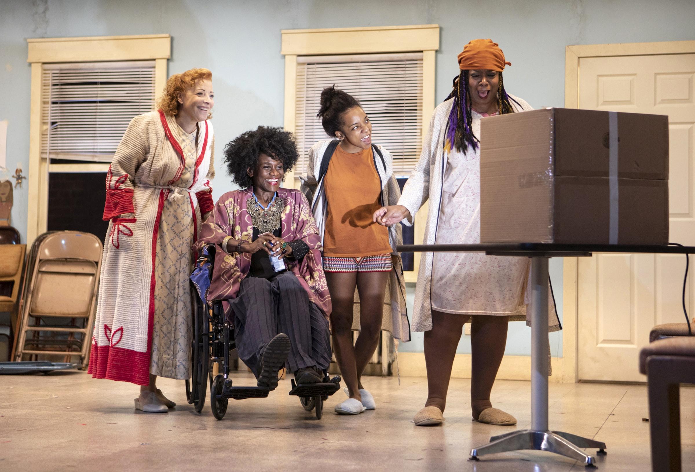 Elizabeth Canavan, Patrice Johnson Chevannes, Kara Young, and Benja Kay Thomas (Photo: Monique Carboni)