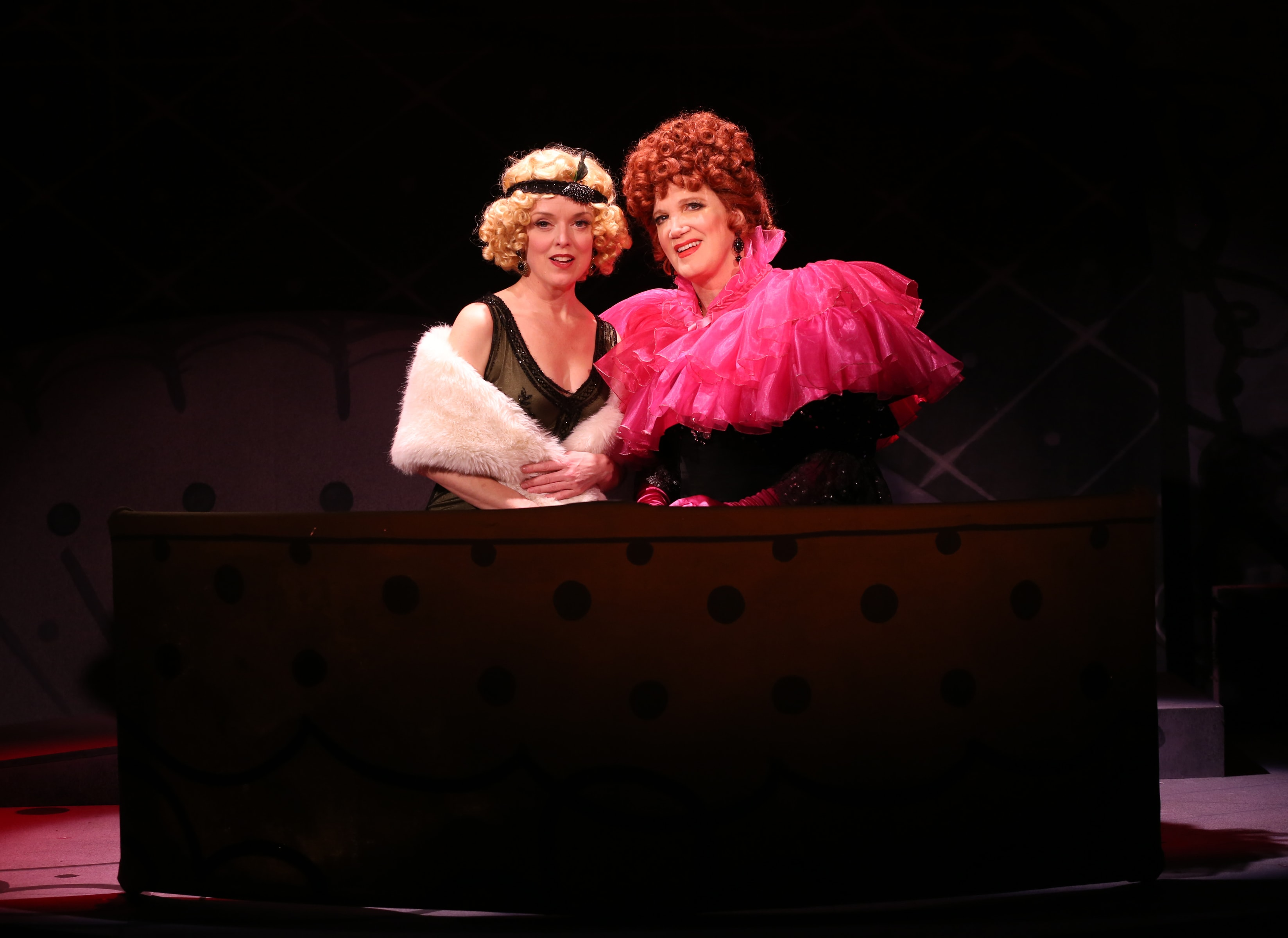 Nancy Anderson and Charles Busch in <i>The Confession of Lily Dare</i>. Photo: Carol Rosegg