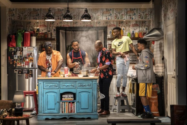 Review: The Hot Wing King at Signature Theatre
