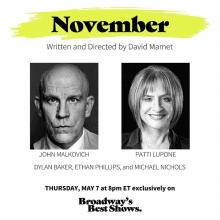 Review: November on Spotlight on Plays