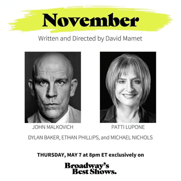 Review: November on Spotlight on Plays