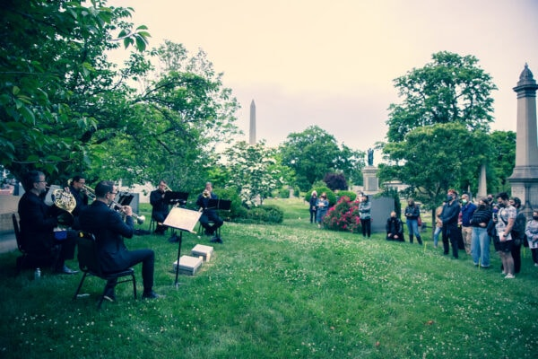 Review: Hymn to the City at Green-Wood Cemetery